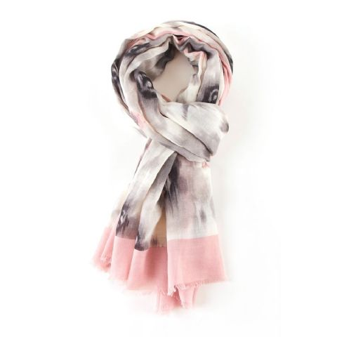 PINK BLOOM SCARF